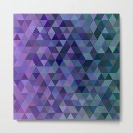 Triangle tiles Metal Print