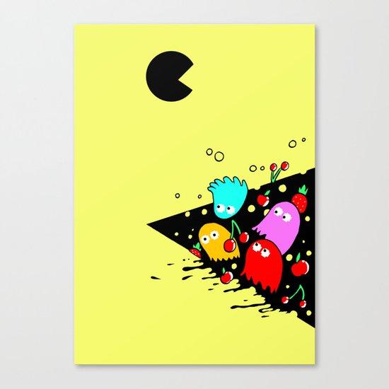 GREEDY  Canvas Print