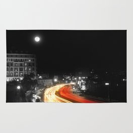 City And The Moon Rug