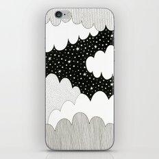 Cloudy Night iPhone & iPod Skin