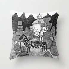 The Gardner Throw Pillow