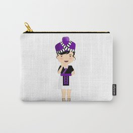 Hmong Cartoon Carry-All Pouch