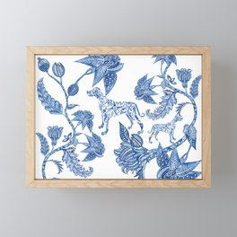 BLUE BATIK WEIMS Framed Mini Art Print