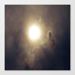 Sun After The Eclipse Canvas Print