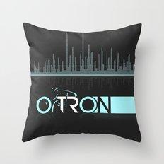 Tron Minimalist Throw Pillow