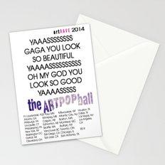 artRAVE 2014 Stationery Cards