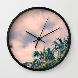Tropical Like Kerala #society6 Wall Clock