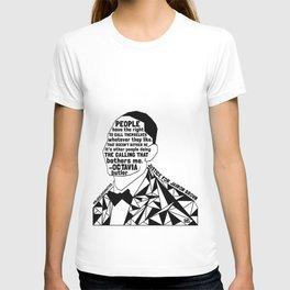 Jairon Brown - Black Lives Matter - Series - Black Voices T-shirt