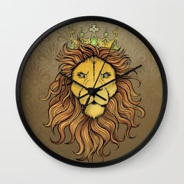 King Lion Wall Clock