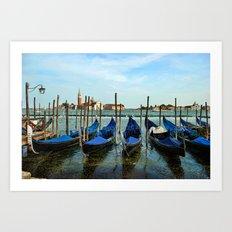 Gondola Art Print