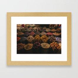 Jumeirah souk madinat Framed Art Print
