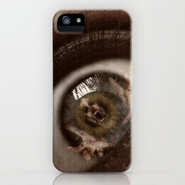 Only Through My Eyes iPhone Case