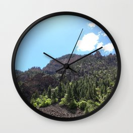 Jagged Edge Wall Clock