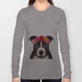 Staffy Rose Long Sleeve T-shirt
