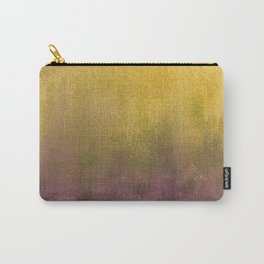 eggplant and gold watercolor Carry-All Pouch
