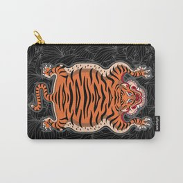 TIBETAN TIGER (black) Carry-All Pouch
