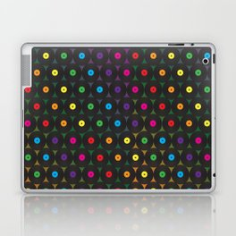 disco records Laptop & iPad Skin
