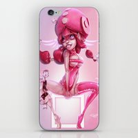 doll iPhone & iPod Skins featuring Doll by Davide Tosello