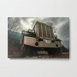 Rusty Warrior Metal Print