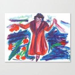 La Diva Canvas Print
