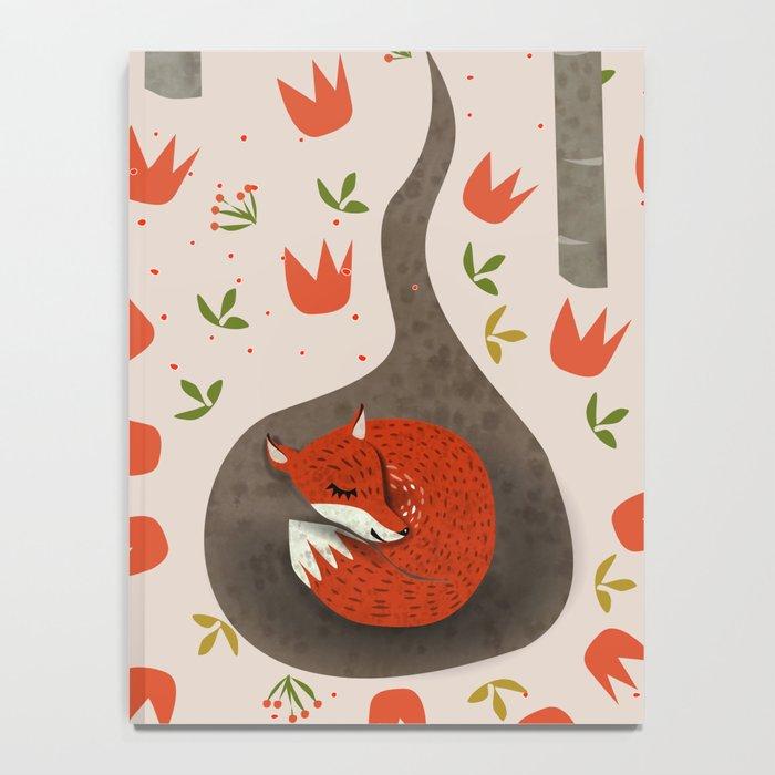 Sleeping Fox Notebook