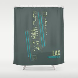 LAX Shower Curtain