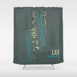 LAX Shower Curtain