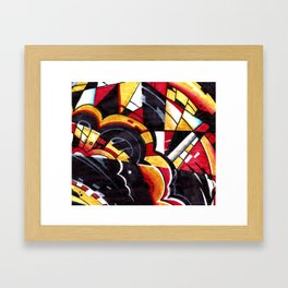 DrsStract1 Framed Art Print