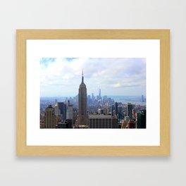 Empire View Framed Art Print