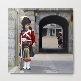 Guard of the Halifax Citadel Metal Print