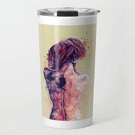 Birdwoman Travel Mug