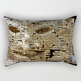 Mudman IV Rectangular Pillow