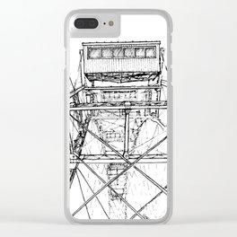 Ferris Wheel, Vienna Clear iPhone Case