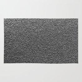 Gray Fleecy Material Texture Rug