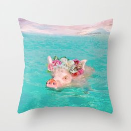 Whistle your soundtrack, daydream your future. Throw Pillow