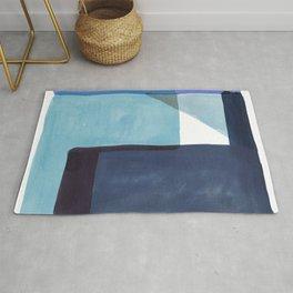 Tetra in Blue Rug