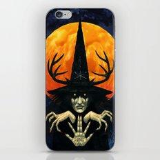 Autumn Conjurer iPhone & iPod Skin