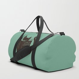 World Domination for Cats (Green) Duffle Bag