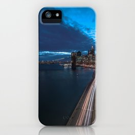 Blue Hour New York City iPhone Case