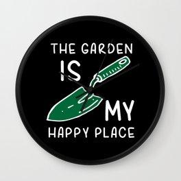 Gardening Gardener Gift Wall Clock