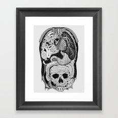 Gross Anatomy Framed Art Print