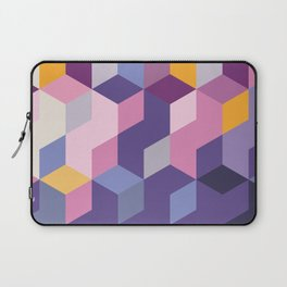 Violet Pattern Laptop Sleeve