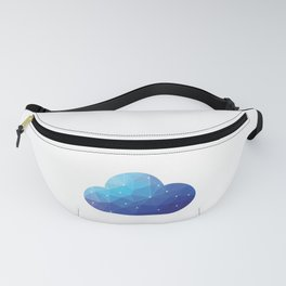 Cloud Of Data Fanny Pack