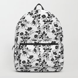 Freedom & Books & Flowers & Moon Backpack