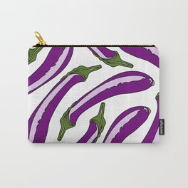 Purple Eggplants Carry-All Pouch