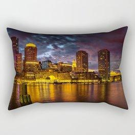 Harbor Lights Rectangular Pillow