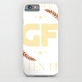Certified Gluten Free iPhone Case