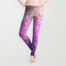 Glitter Graphic Background G104 Leggings