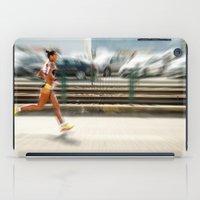 sport iPad Cases featuring Sport by Sébastien BOUVIER