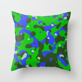 Abstract organic pattern 8 Throw Pillow
